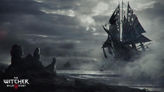 Lo spettrale vascello del videogame The Witcher 3