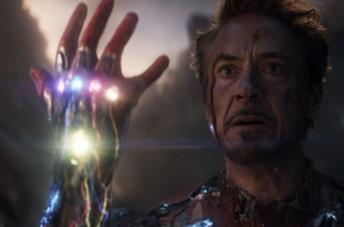 Un'immagine di Avengers: Endgame con Robert Downey Jr. nei panni di Iron Man