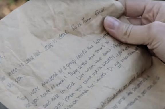 La lettera rivolta a Maggie dal trailer di The Walking Dead 10x16