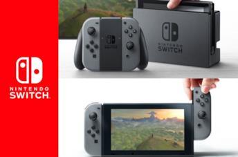 Il logo ufficiale di Nintendo Switch