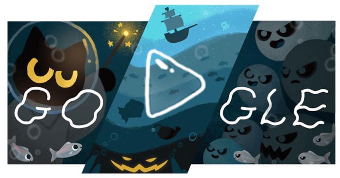 Il Google Doodle di Halloween 2020