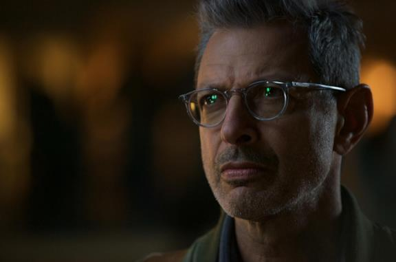 Jeff Goldblum, protagonista di Independence Day 2.