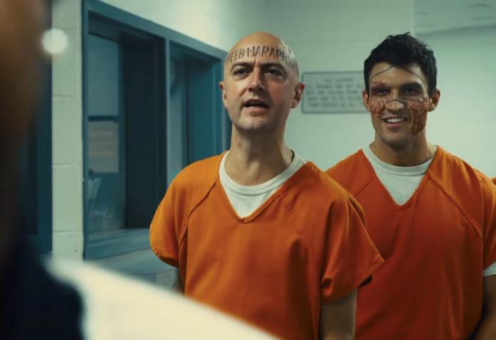 Due villain nella prigione di Belle Reve