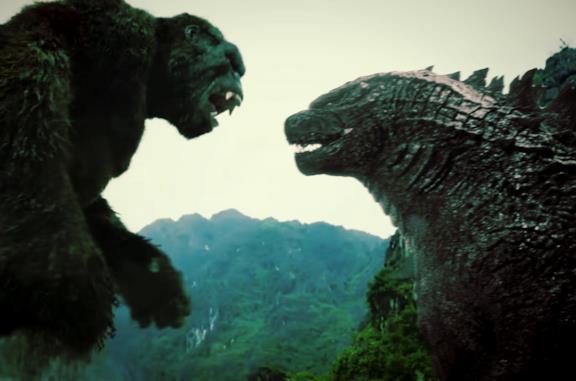 Godzilla e Kong si affrontano