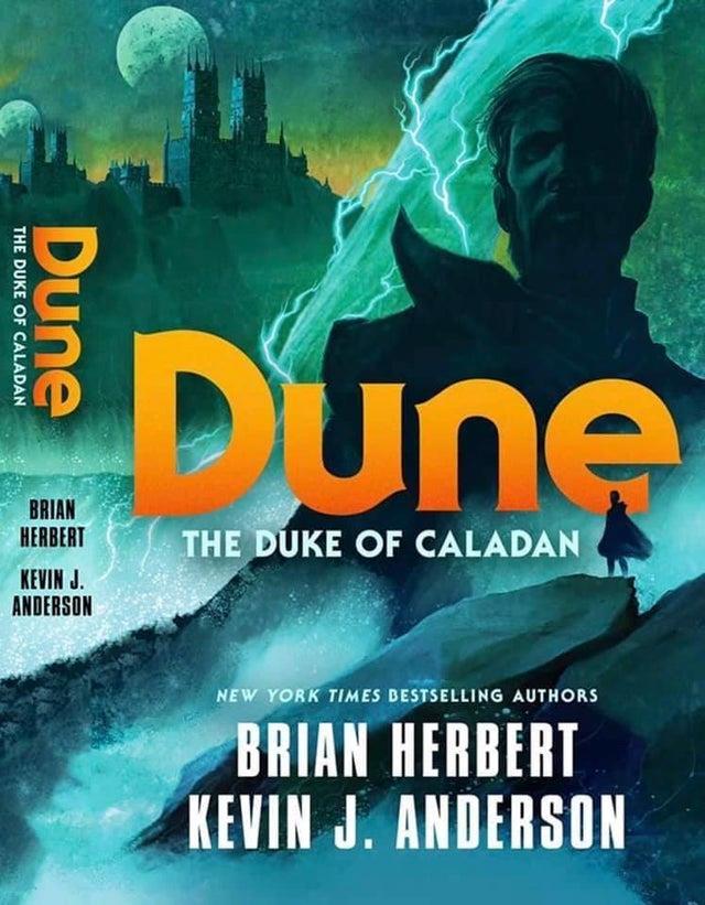 La copertina di Dune: The Duke of Caladan