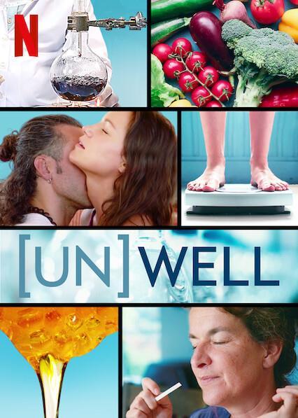 Il poster della docu-serie di Netflix A chi fa bene il wellness?