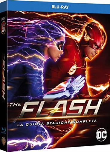 The Flash, La Quinta Stagione Completa  (4 Blu Ray)