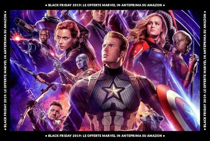 Black Friday 2019: le offerte Marvel