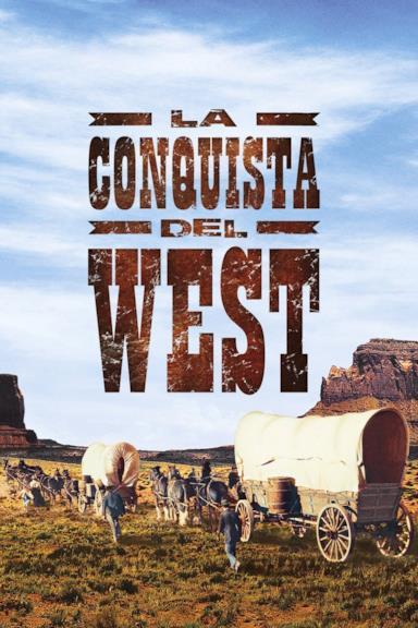 Poster La conquista del West