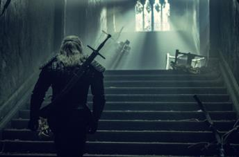 I segni magici di Geralt usati nella serie TV The Witcher