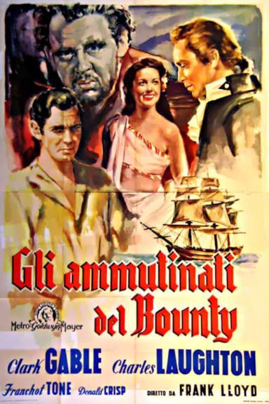 Poster La tragedia del Bounty