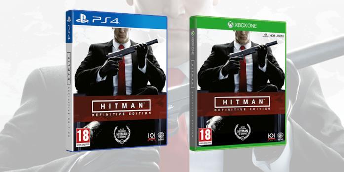 Hitman: Definitive Edition uscirà su PS4 e Xbox One: le boxart