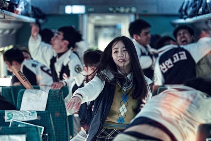 La giovane liceale di Train to Busan chiede aiuto