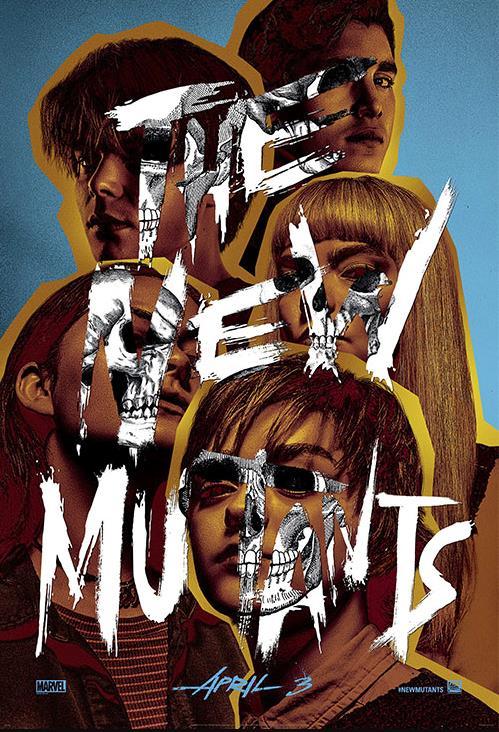 The New Mutants - poster del film