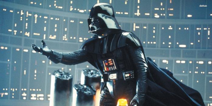Darth Vader dentro la Morte Nera