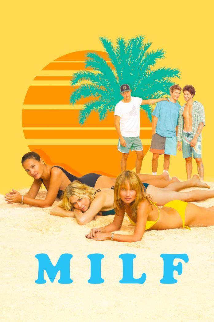 La locandina ufficiale del film MILF