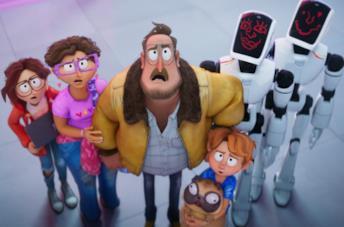 I Mitchell contro le macchine: personaggi e doppiatori