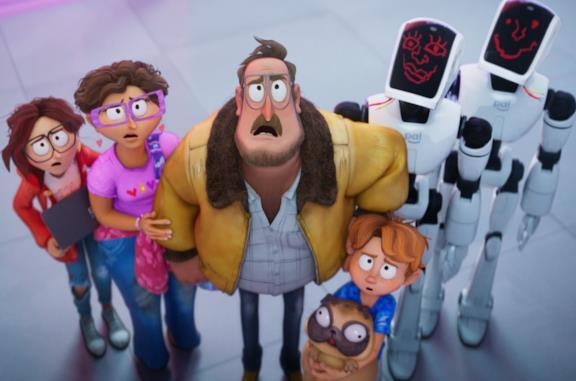 I Mitchell contro le macchine: personaggi e doppiatori del film d'animazione
