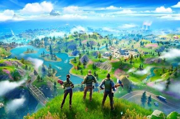 Alcuni personaggi del videogioco sul campo di battaglia