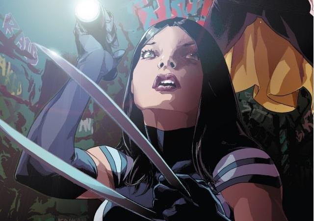 Dettaglio della cover di X-23 Vol. 2: Chaos Theory
