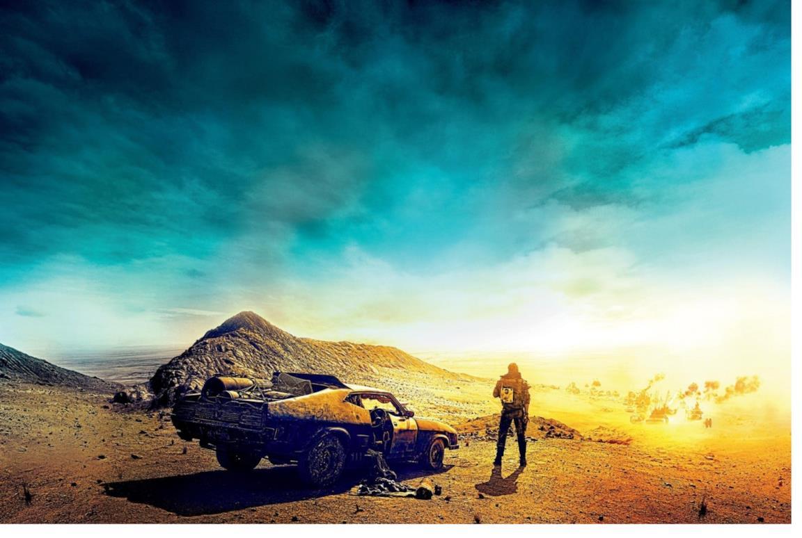 Il paesaggio post-apocalittico di Mad Max