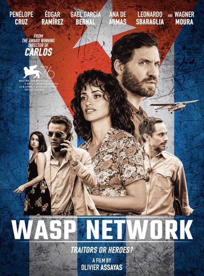 Il cast di Wasp Network nella locandina del film