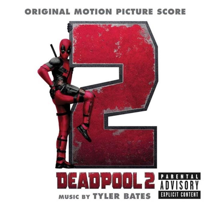 Deadpool posa per l'album della colonna sonora del sequel