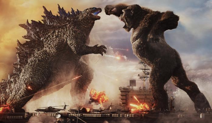I due titani Godzilla e Kong