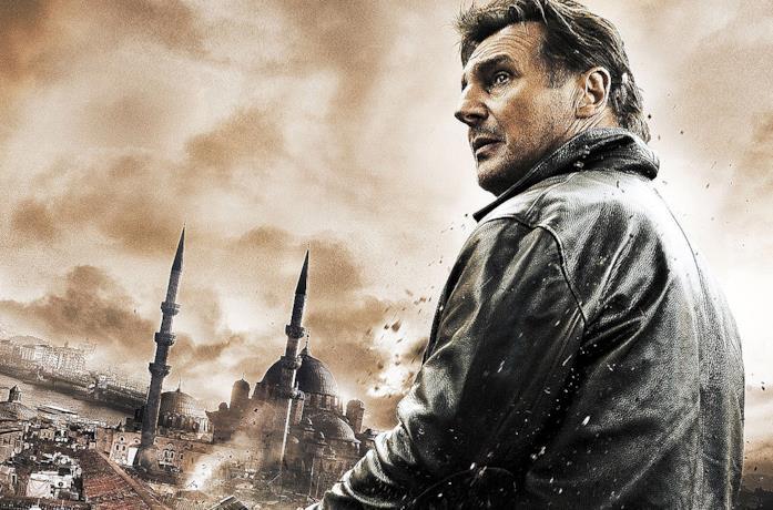 Liam Neeson in una scena del film