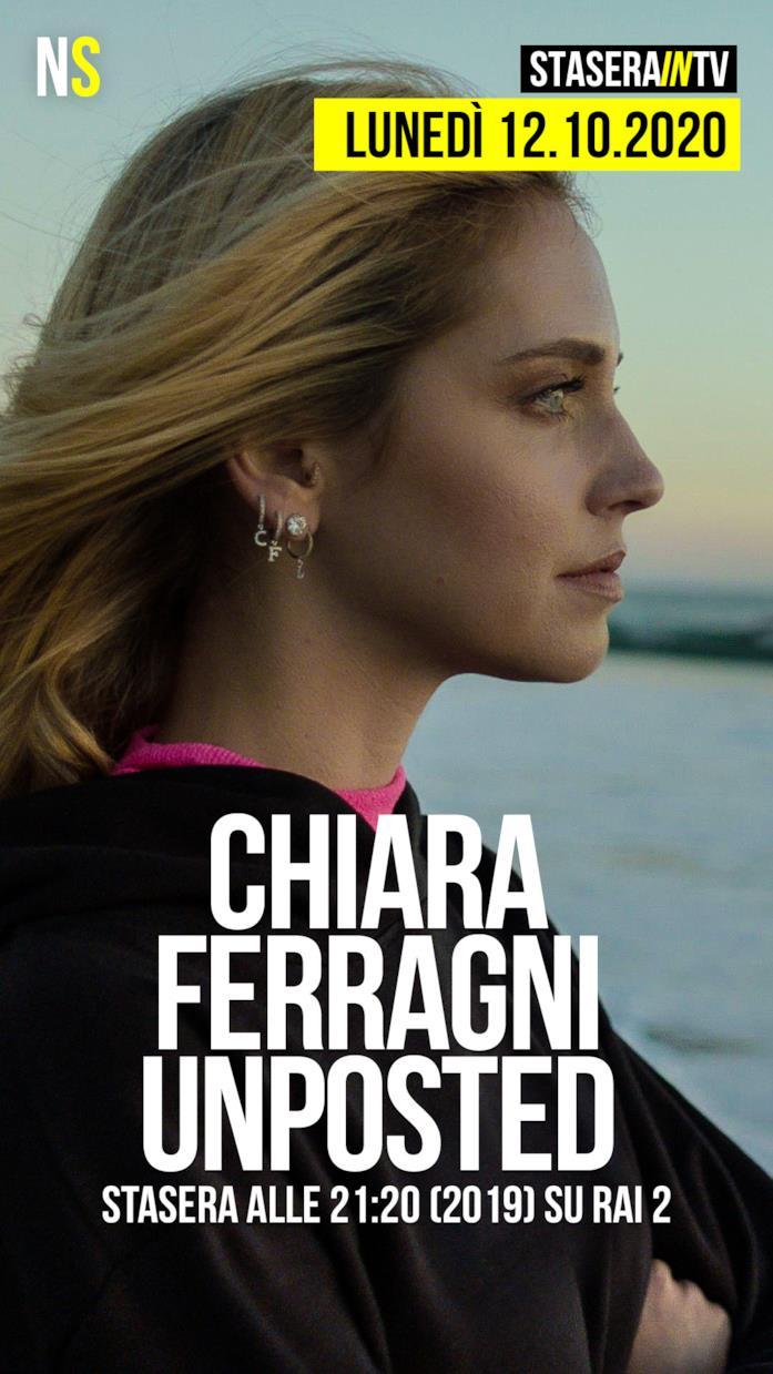 Chiara Ferragni Unposted alle 21:20 (2019) su Rai 2