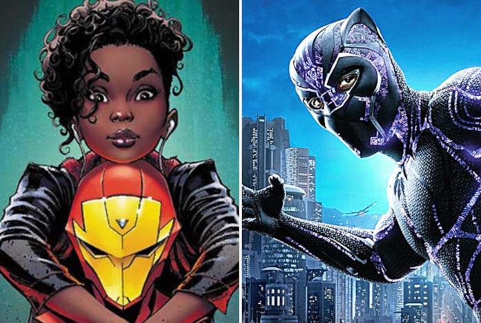 Riri Williams e Black Panther