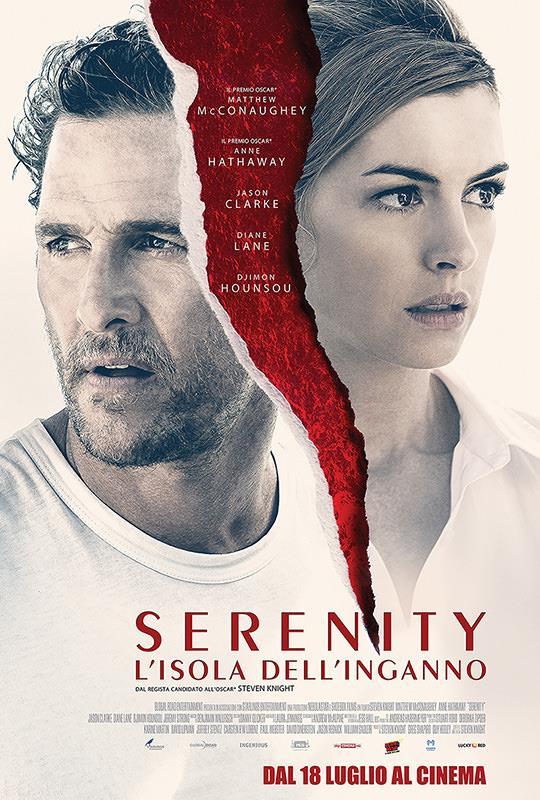 Il poster di Serenity - L'isola dell'inganno
