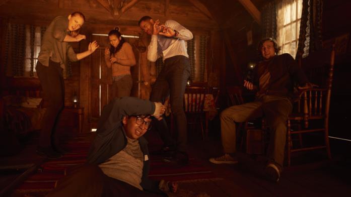 Una scena di Escape Room