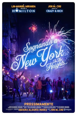 I fuochi d'artificio nella locandina di Sognando New York - In the Heights