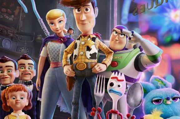 Campo medio dei protagonisti di Toy Story 4