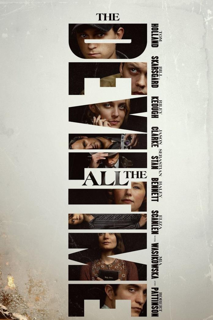 I personaggi di Le strade del male nel poster del film