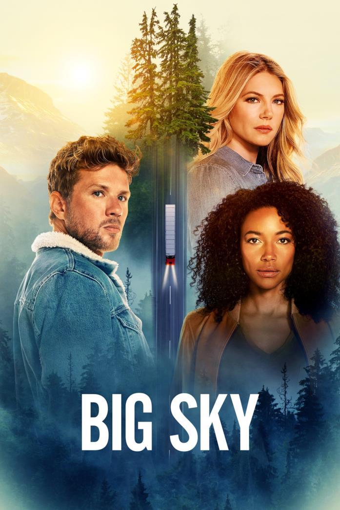Il cast nella locandina di Big Sky