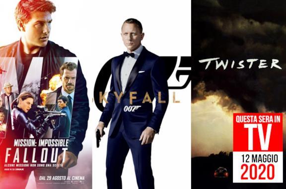 Film in TV stasera: 12 maggio 2020