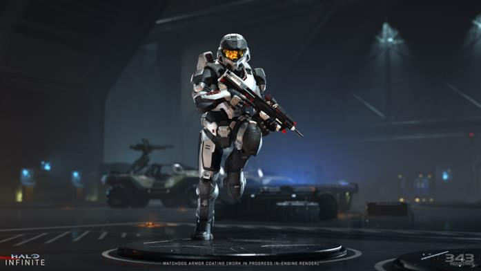 La Watchdogs Armor di Halo Infinite