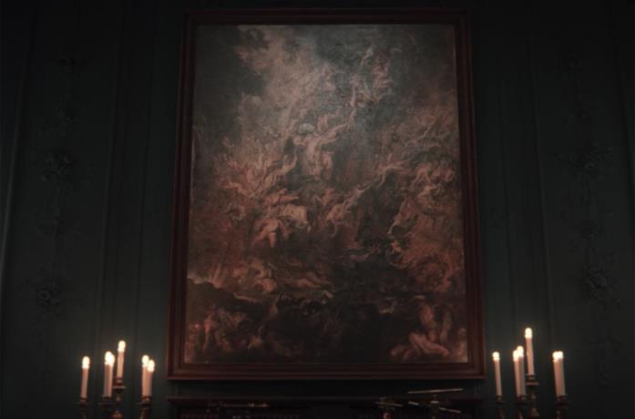 Dark: il quadro La caduta degli angeli ribelli