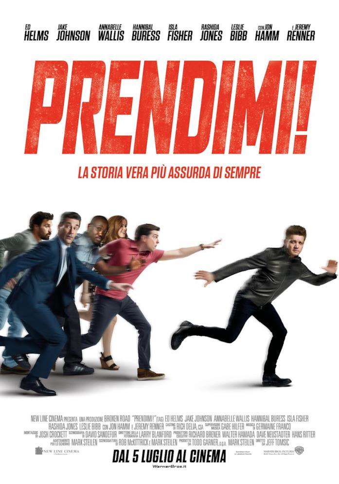 Il poster ufficiale italiano di Prendimi!