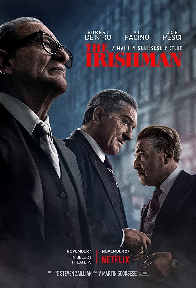 Il poster del film The Irishman
