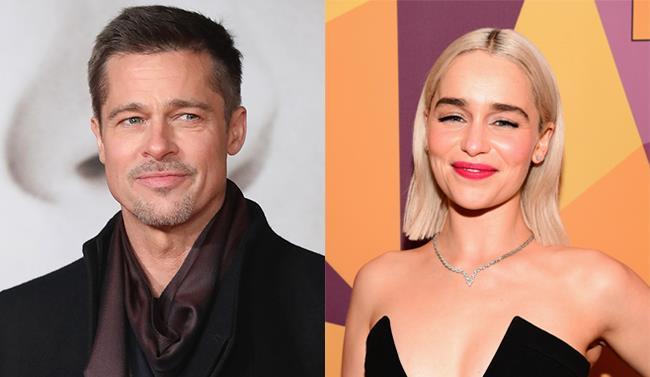Brad Pitt ed Emilia Clarke
