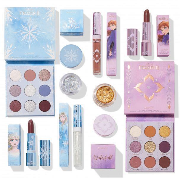 Frozen 2 x Colourpop make up collection