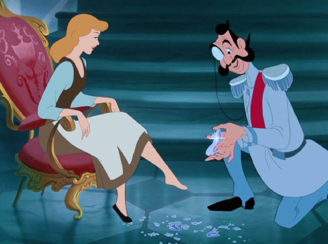 Una scena del Classico Disney Cenerentola
