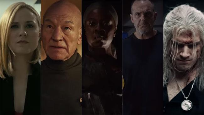 I protagonisti dei trailer delle serie TV presentati al SDCC 2019