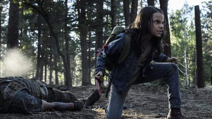 Dafne Keen come X-23 in Logan - The Wolverine