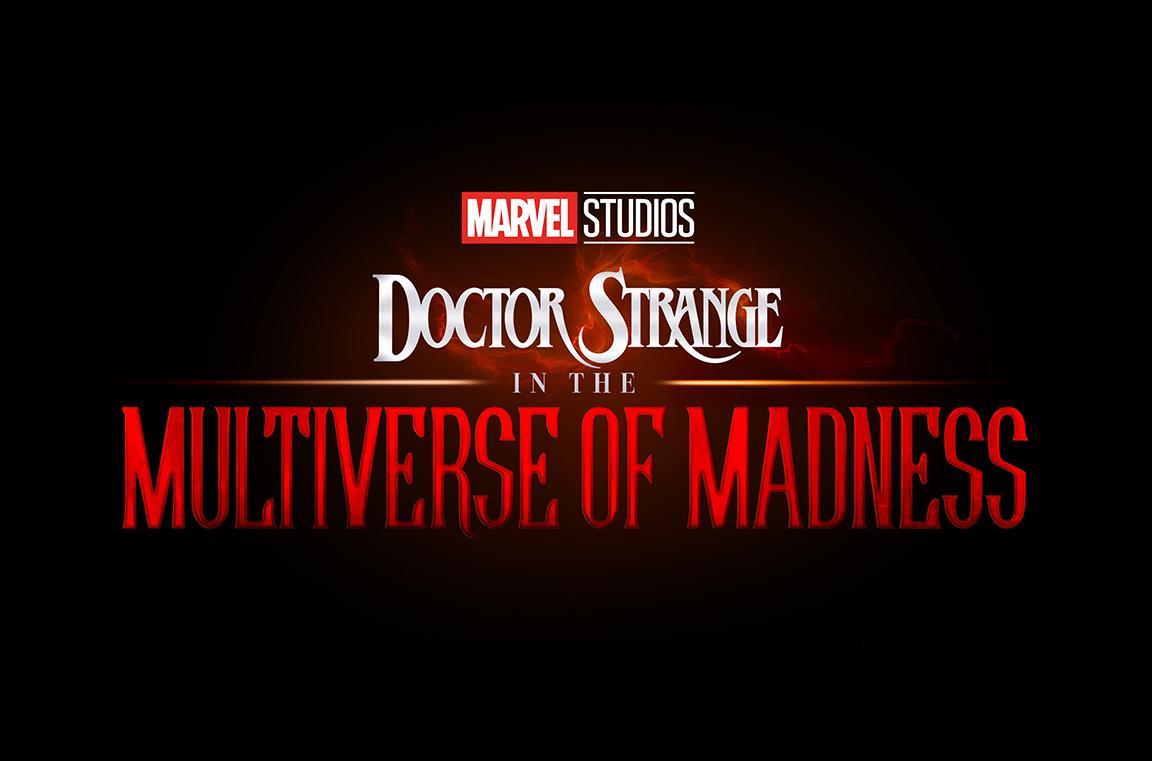 Il logo ufficiale di Doctor Strange in the Multiverse of Madness