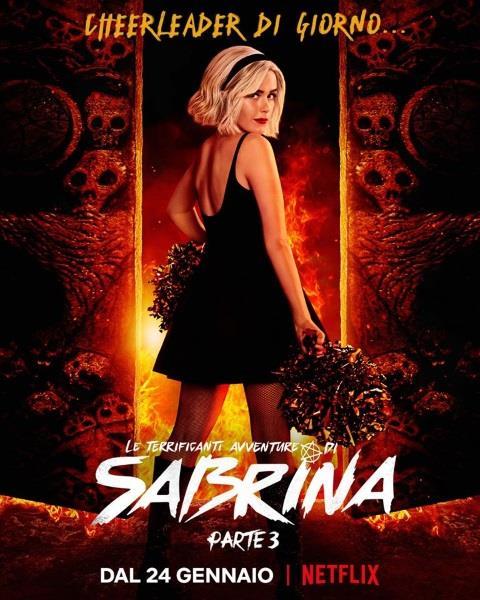 Le Terrificanti Avventure di Sabrina 3, il poster dei nuovi episodi su Netflix