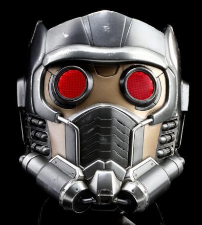 Il casco di scena di Star-Lord nei Guardiani della Galassia